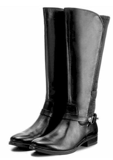 Caprice dámské kozačky široké lýtko XL 9-25531-29 černé
