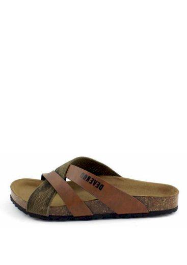 Devergo pánské pantofle TRABACCOLO 2029 hnědé