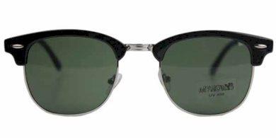 Hailys dámské sluneční brýle PAULA černostříbrné