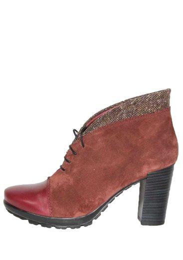 Dámské kotníkové boty se šněrováním Hispanitas Arizona HI40486 vínové