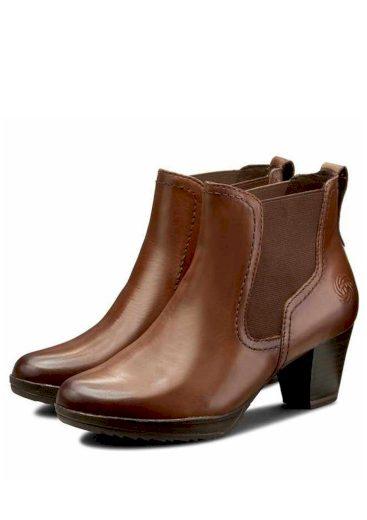 Dámská kotníková obuv Marco Tozzi 2-25030 hnědá