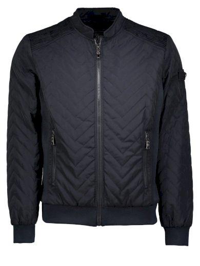 Rino&Pelle pánská prošívaná bunda bunda KIVANO modrá