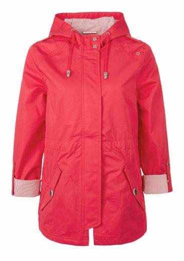 s.Oliver dámská jarní bunda v námořnickém stylu růžová