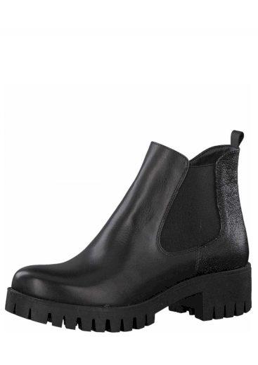 s.Oliver dámská kotníková obuv na platformě 5-25401-21 černá