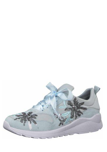 s.Oliver dámské sneakers na vysoké platfomě 5-23674-30 lt blue