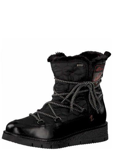 s.Oliver dámská kotníková nepromokavá obuv 5-26477-31 černá