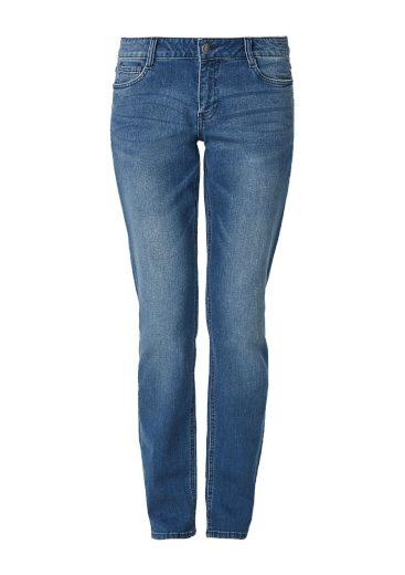s.Oliver dámské strečové džíny Smart Straight modré