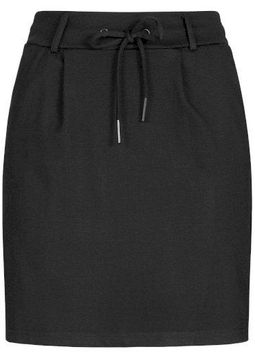 Hailys dámská tepláková pouzdrová sukně Jilla černá