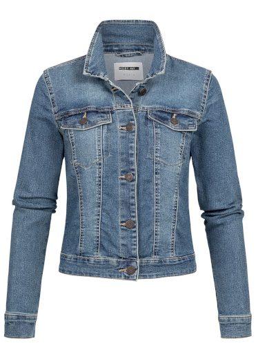 Noisy May dámská džínová bunda Debra modrá