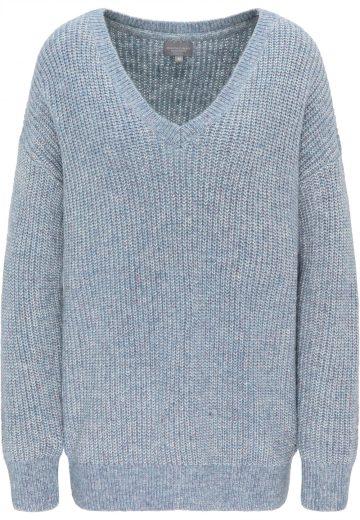 Broadway dámský pletený svetr Silka modrý