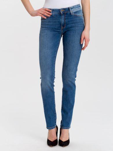 Cross Jeans dámské džíny Anya vysoký pas P489-153 světle modré