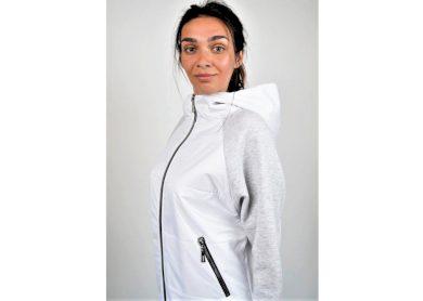 Funk´n´Soul dámská lehká jarní bunda bílá