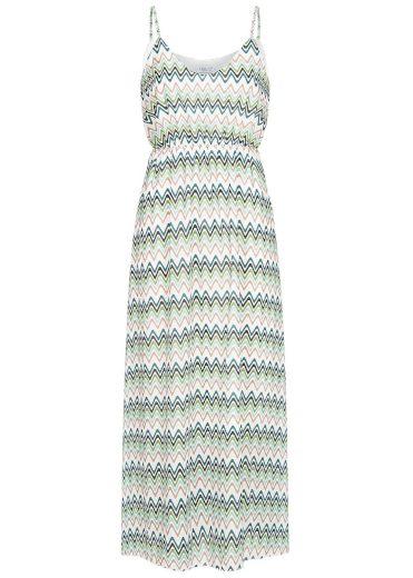 Hailys dámské šaty se vzorem Sabrina bílé