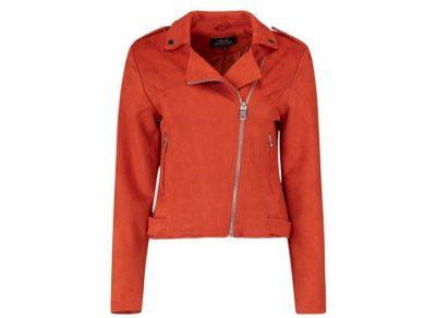 Hailys dámský semišový křivák Vera oranžový