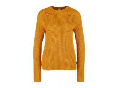 Q/S s.Oliver dámský pletený svetr okrový