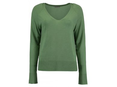 Hailys dámský svetr Carlotta z jemné pleteniny zelený