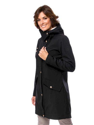 Heavy Tools dámská přechodová prodloužená bunda Yokla černá