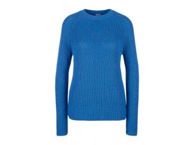Q/S s.Oliver dámský pletený svetr modrý