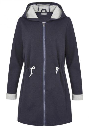 Broadway dámský lehký kabát Eiley s kapucí tmavě modrý