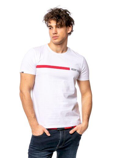 Heavy Tools pánské triko s potiskem MABREN bílé