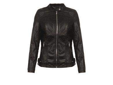 Rino&Pelle dámská koženková bunda Bebby černá