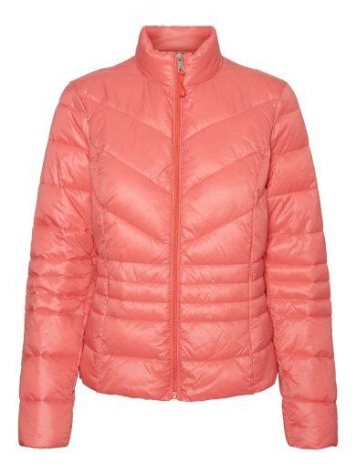 Vero Moda dámská přechodová bunda Sorayasiv korálová