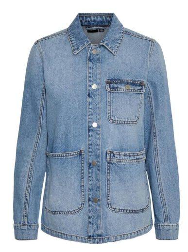 Vero Moda dámská džínová bunda Smilla modrá