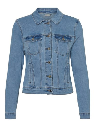 Vero Moda dámská džínová bunda Soya modrá