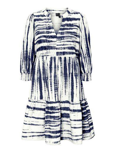 Vero Moda dámské tunikové šaty Dicthe modrobílé