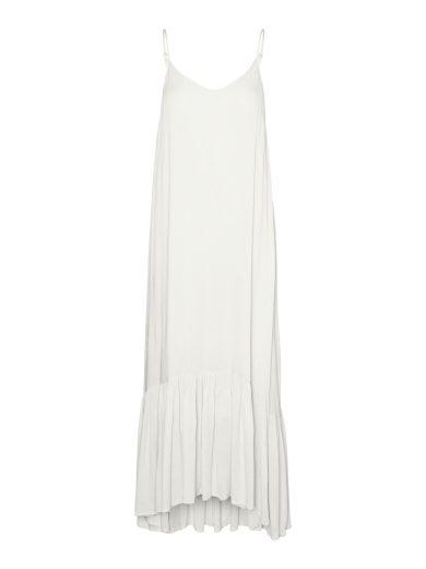 Vero Moda dámské maxi šaty Lina bílé