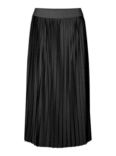 Vero Moda dámská plisovaná sukně Lexi černá