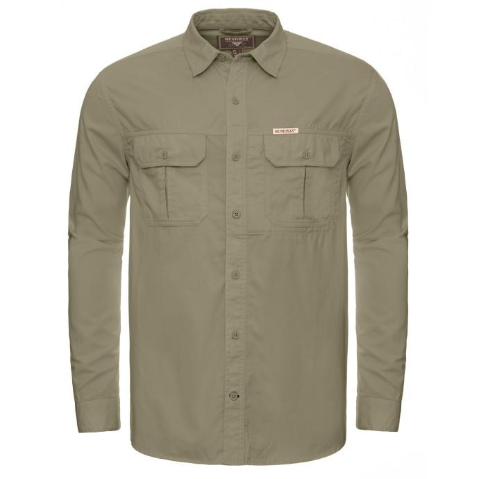 Bushman košile Hillman light olive M
