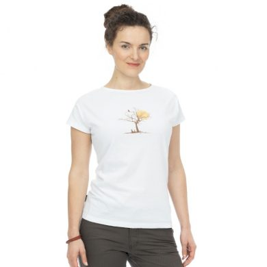 Bushman tričko Ravenna white L