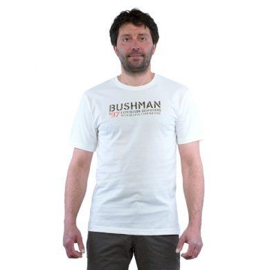 Bushman tričko Austel white M