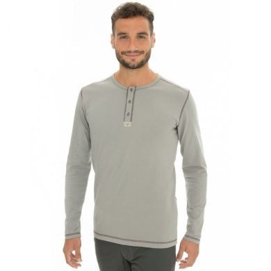 Bushman tričko Kramer II light grey M