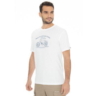 Bushman tričko Bobstock II white M