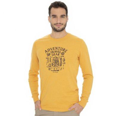 Bushman tričko Posen yellow M