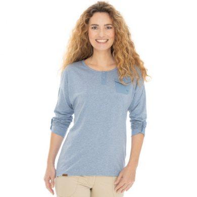 Bushman tričko Laurra light blue S