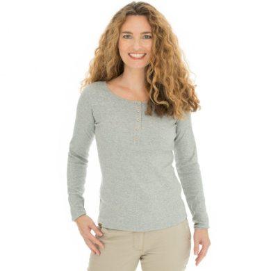 Bushman tričko Diana light grey S