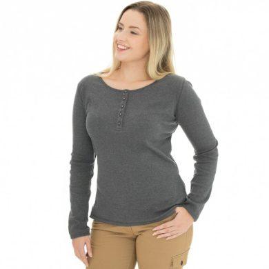 Bushman tričko Diana dark grey S