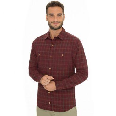 Bushman košile Goshen burgundy M