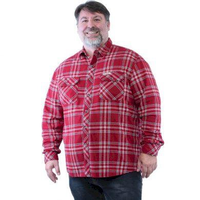 Bushman košile Harrison red M