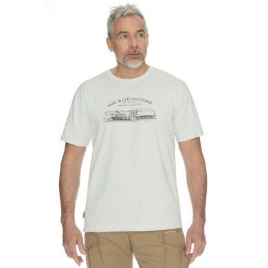 Bushman tričko Bobstock IV white S