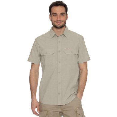 Bushman košile Well Short cream M