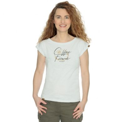 Bushman tričko Iskra white S