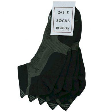 Bushman ponožky Short Set 2,5 khaki 36-38