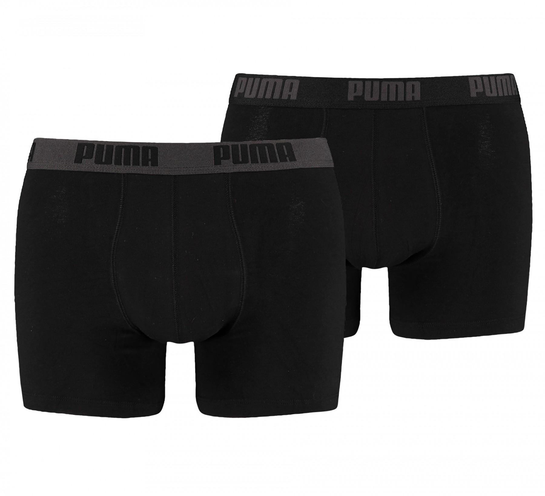 Pánské boxerky Puma basic 2P black