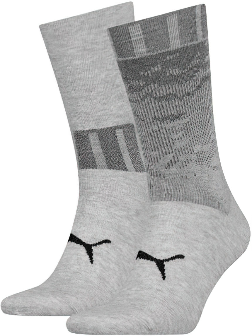 Ponožky Puma Sock 2P Anthracite