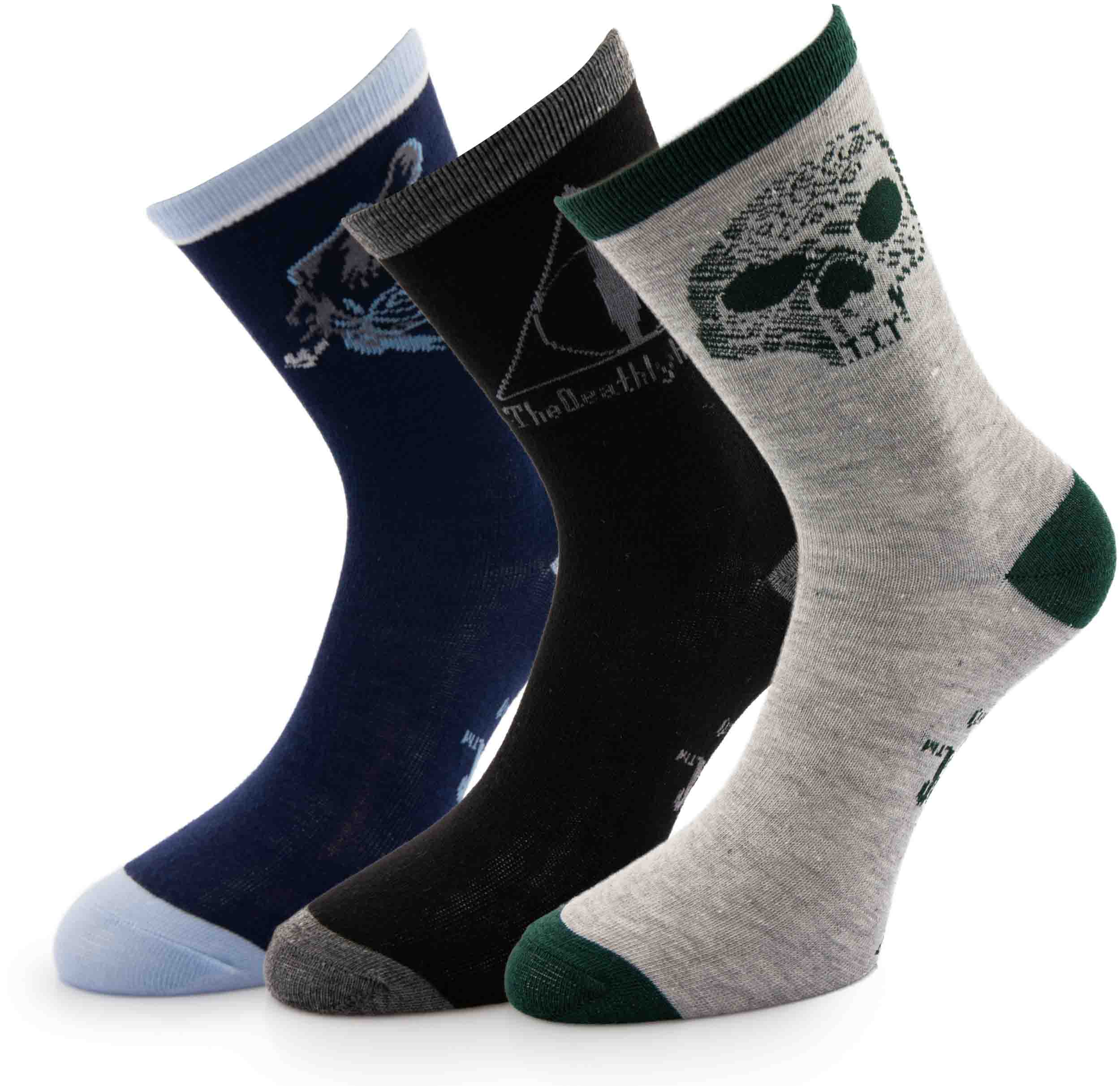 Ponožky Harry Potter Deathly Hallows 3-pack