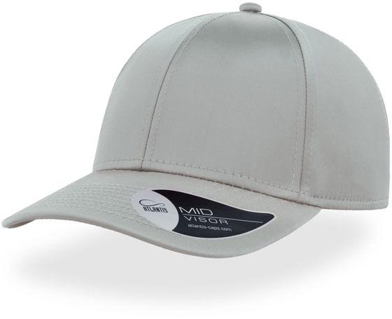 Kšiltovka Atlantis MEME cap grigio